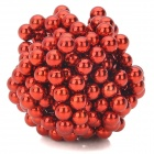 5mm Neodymium Magnet Sphere DIY Puzzle Set - Red (216 PCS)