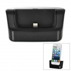 8-Pin Lightning Data / Charging Docking Station for iPhone 5 - Black