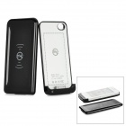 1680mAh External Wireless Power Battery Back Case for iPhone 4 / 4S - Black