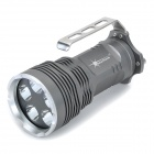 SolarStorm New-550 1940lm 5-Mode White Flashlight - Grey (4 x 18650)