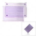 "Protective PC Case Cover for MacBook Air 13.3"" - Transparent Purple"