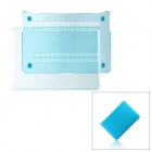 "Protective PC Case Cover for MacBook Air 13.3"" - Transparent Blue"