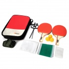 Panon PN-2806 Multi-Function Outdoor Sports Table Tennis / Ping-pong Set - Red + Black + Grey