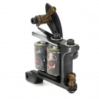 HM112 Fashion Design Tattoo Machine Liner Shader Gun - Black