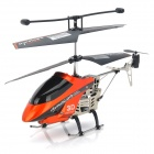 IA-8839 Rechargeable 3.5-CH Radio Control R/C Helicopter w/ Gyro / LED - Black + Pure Orange
