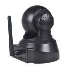 TENVIS JPT3815W 0.3MP Wireless P2P Pan/Tilt Security Surveillance IP Camera - Black