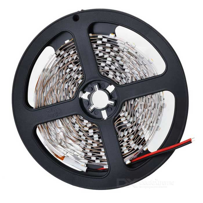 24W 2100LM 3300K Warm White 300*3528 LED Flexible Light Strip (12V/5m)3528 SMD Strips<br>MaterialFPCEmitterForm  ColorWhiteQuantity1Rated VoltageOthersEmitter Type3528 SMD LEDTotal Emitters300LightColor BINWarm WhiteColor Temperature3300CertificationCEPackingOther FeaturesLengthPacking List<br>