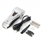 AO CHENG RSCW-625 Stylish Rechargeable Electric Shaver - Silver