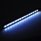 D12111402X DIY 3.6W 270lm 6000K 15-SMD 5050 LED White Light Strip Car Door Lamps (DC 12~14V / 2 PCS)
