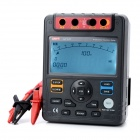 "UNI-T UT511 5.2"" LCD Insulation Resistance Tester - Black + Deep Grey (8 x R14)"
