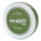 KISS BEAUTY K017 2# SPF20 Green Tea Natural Pressed Powder w/ Sponge Puff & Mirror