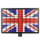 UK National Flag Pattern EL Car Sound Control Sensor Music Rhythm Sheet Light Lamp Sticker