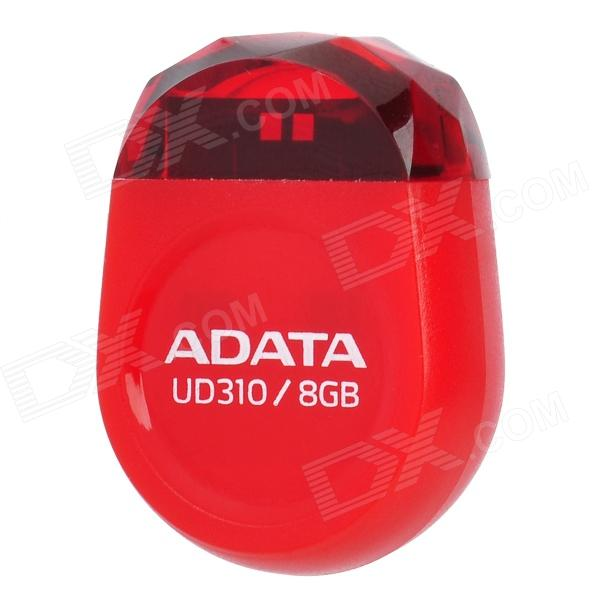 ADATA UD310 Mini Gem USB 2.0 Flash Disk - Red (8GB)