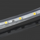 4.8W 240LM branco quente 60 * SMD 3528 flexível LED Light Strip (220V / 1m)