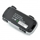Portable MPR-L9 Car Style 3G Wireless Router with 5600mAh Mobile Power Supply - Silver + Black