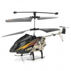 IA-8865 Rechargeable 3,5-CH IR Remote Control Sensor Motion R / C Helicopter w / Gyro / LED - Schwarz