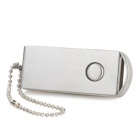 Поворотный High Speed ​​USB 2.0 Flash / Jump Drive W / Key Chain - Silver (16GB)