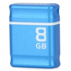 Genuine KINGMAX PI-01 USB 2.0 Flash Drive w/ Strap - Blue + White (8GB)