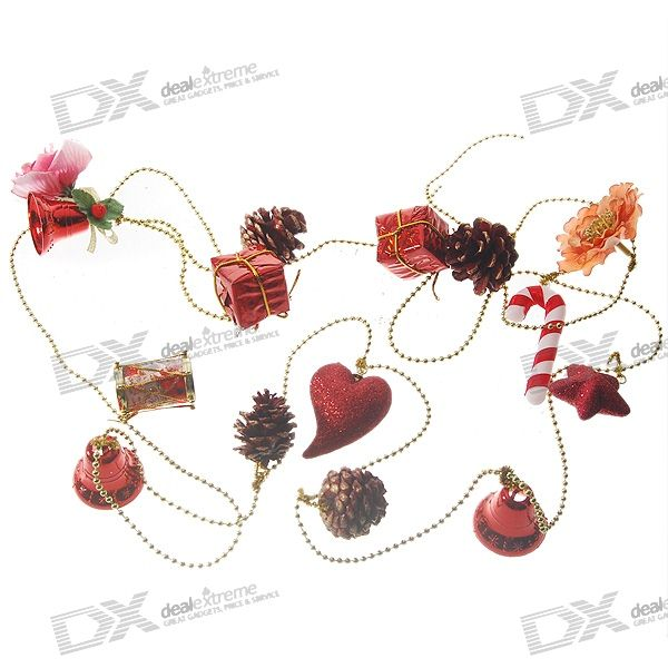 Christmas hanging ornaments charming ornaments string assorted free shipping dealextreme - String ornaments christmas ...