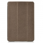 Protective PU Leather Case for Ipad MINI - Dark Grey
