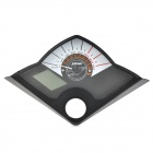 DIY Fuel Gauge / Odometer / Speedometer LCD for Motorcycle - Black