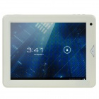 "Newsmy S7 9.7"" Capacitive Screen Android 4.0 Dual Core Tablet PC w/ TF / Wi-Fi / Camera - White"