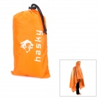 HASKY XQQ-YY-6 Outdoor Camping 3-in-1 Waterproof Oxford Cloth Raincoat Tent Pad - Orange