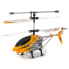 Udi U802 Rechargeable 3.5-CH IR Remote Control R/C Helicopter w/ Gyro - Yellow + Black