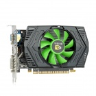 GT630 NVIDIA GT430 GF108 40nm 128-Bit 2G GDDR3 DirectX 11 Graphics Card - Black + Green