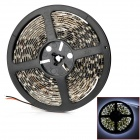 Waterproof 90W 3000lm 6000k 300-SMD 5050 LED White Light Car Flexible Lamp Strip (12V / 500cm)