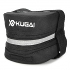 KUGAI 13014 Cycling Bicycle Bike Saddle Seat Expandable Tail Bag - Black