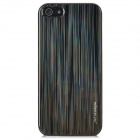 NILLKIN Laser Beam Striking Colors Protective Back Case for Iphone 5 - Black