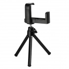 Mini Adjustable Retractable TrIpod Stand Holder for Iphone5 /4 / 4S / Camera / Mobile Phone - Black