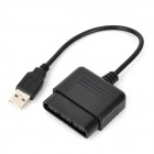 WM800-240 PS2 to USB 2.0 Controller Convertor Adapter Cable - Black (25.5cm-Cable)