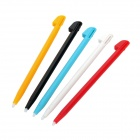 Stylish Plastic Stylus Pen for Nintendo Wii U - Black + White + Blue + Red + Orange (5 PCS)