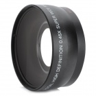 55mm 0.45X Wide Angle Conversion Lens w/ Macro for Cameras / Camcorders - Black