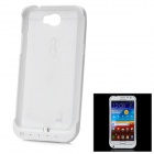 External 3200mAh Back Case Battery w/ Stand for Samsung N7100 - White