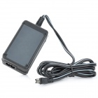 Replacement Camera AC / DC Power Adapter for Sony AC-L200 + More - Black (100-240V / 170cm-Cable)