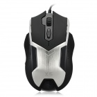 Genius X5 Wired USB 2.0 2000dpi Optical Gaming Mouse w/ Balance Weight - Black (155cm-Cable)