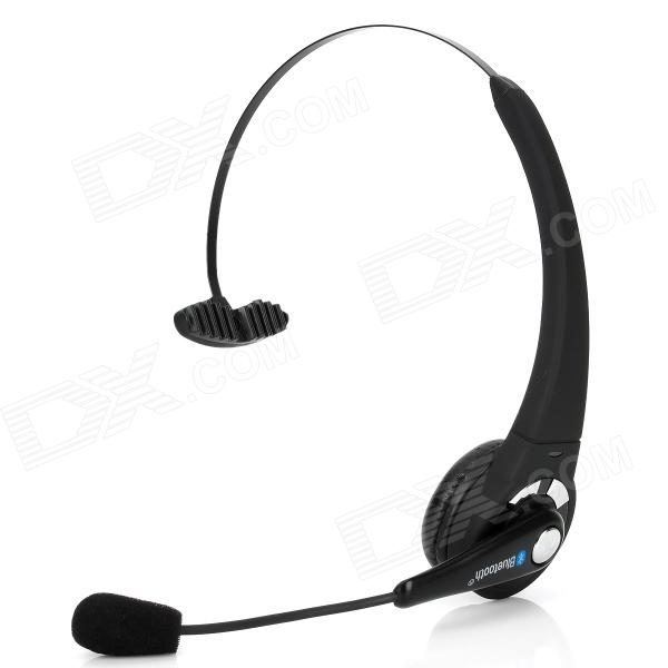 Wireless Bluetooth v2.1 + EDR Headset Headphones w/ USB for PS3 -Black