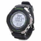 SUNROAD FX711A Digital Fishing Barometer Watch w/ Altimeter + Thermometer + Weather Forecast + Time
