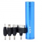 WST-Q9I Portable 2800mAh Rechargeable Mobile Charger Power Supply for iPhone 4 + More - Blue