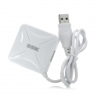 SSK SHU027 Square Shaped High Speed 4-Port USB 2.0 HUB - White
