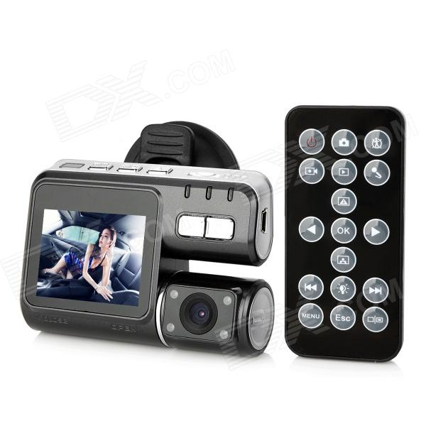 "EX-7 2.0"" TFT 1.0MP G-Sensor Car Vehicle Mount Video Recorder / Camcorder DVR w/ AV-OUT / TF / 4-LED"