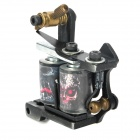 97185 Fashion Design Tattoo Machine Liner Shader Gun - Black