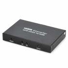 AV / S-Video TO HDMI Converter - Black (2-Flat-Pin Plug)