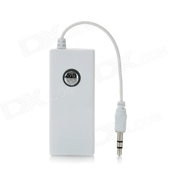 LanHu 002 2.4GHz Bluetooth V2.0 Audio Transmitter Dongle - White (3.5mm Plug) dl link 3 5mm mini bluetooth audio transmitter a2dp stereo transmitter transmite dongle adapter for tv ipod mp3 mp4 pc