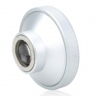 ZEA-F19 Detachable 190-Degree Wide Angle Fish Eye Lens for Cell Phones - Silver