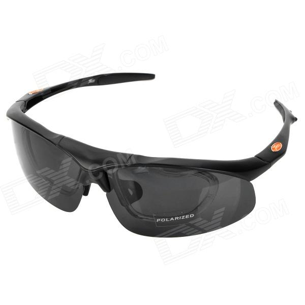 Panless S866-2 Outdoor Sports Protection Anti-Shock Men's Goggles w/ Replacement Lens - Black триммер электрический hammer flex etr1300 1200вт