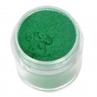 BK #12 DIY Decoration Nail Powder for Nail Polish - Green